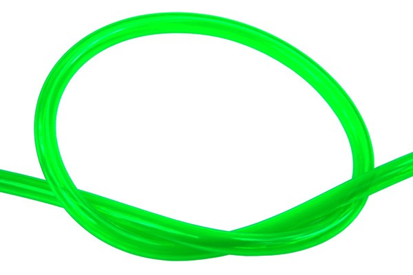 "Masterkleer tubing PVC 10/8mm (5/16""ID) UV-reactive dark green"