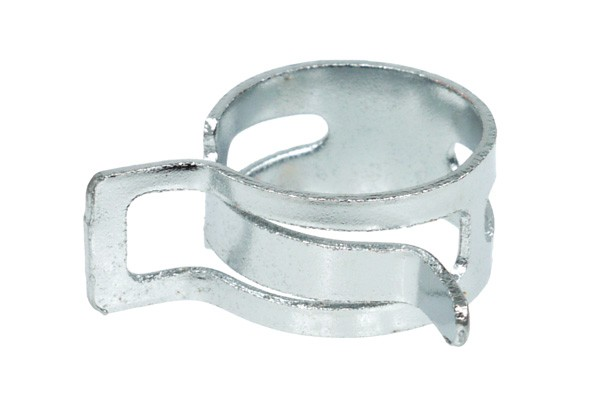 Alphacool hose clamp spring steel 19-22mm - chrome