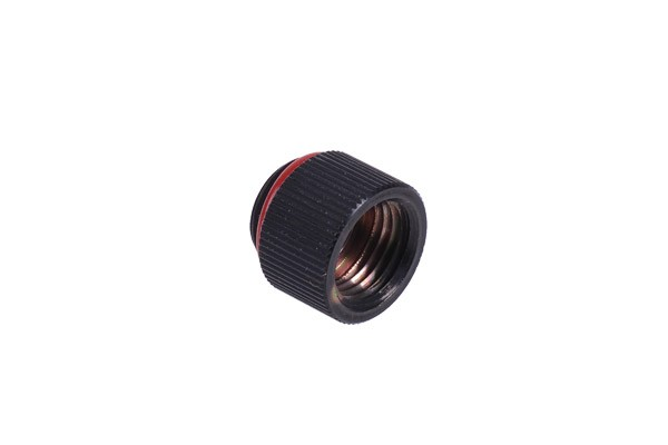 Extension G1/4 to G1/4 - knurled - matte black