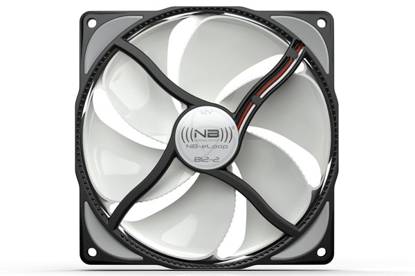 Noiseblocker NB-eLoop B12-2 Bionic fan 1300rpm ( 120x120x25mm )