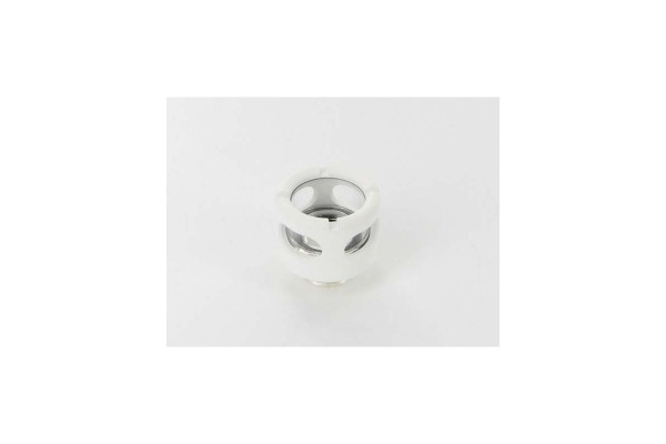 "Monsoon Hardline 13/10mm (ID 3/8"" OD 1/2"") compression fitting - White"