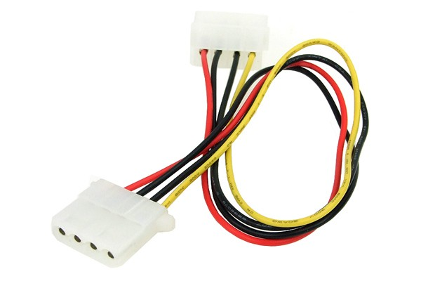 Phobya 4Pin Molex power extension 30cm