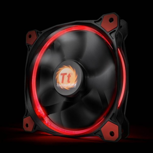 Thermaltake Riing 14 LED red, casefan - (120x120x25mm)