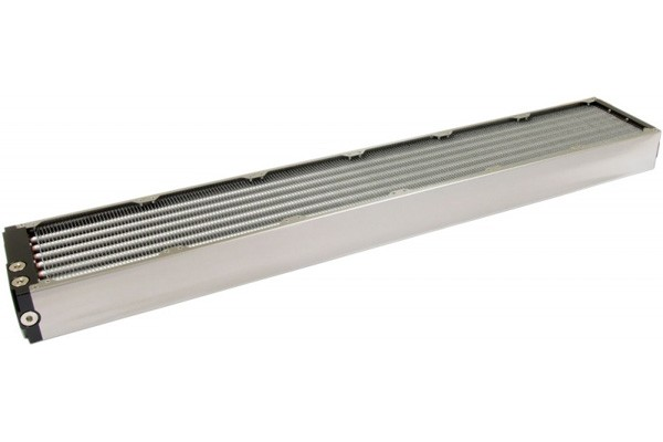 Aquacomputer airplex modularity system 840 mm, aluminum fins, one circuit, stainless steel side panels